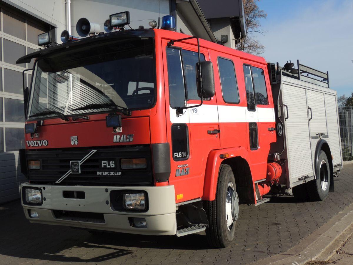 Wóz Strażacki – Pożarniczy VOLVO FL614 1989r