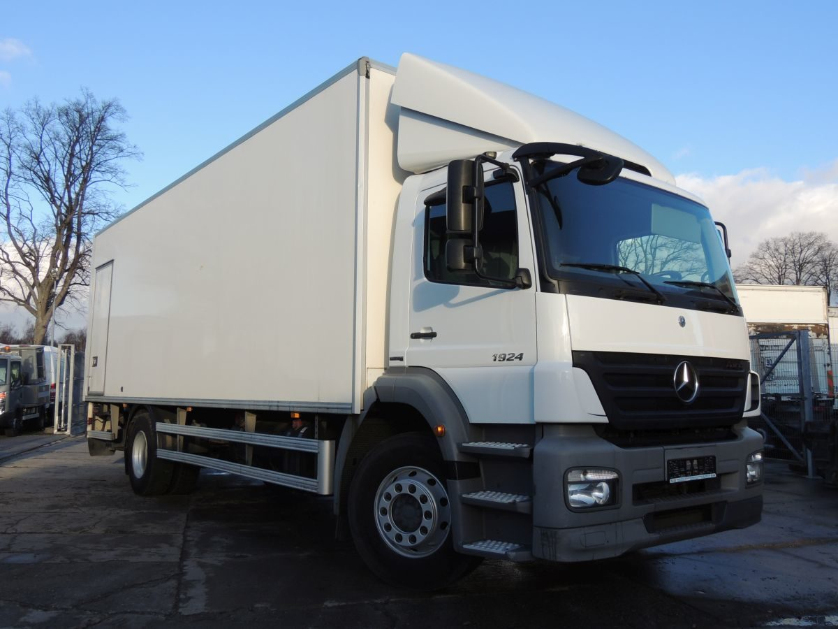 Mercedes Axor 1924 container, 2010, 240HP