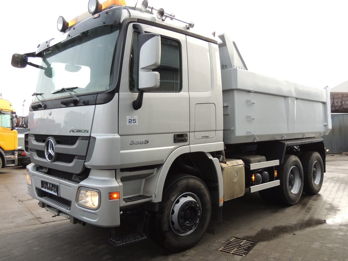 MERCEDES-BENZ ACTROS 3355 Kipper, 2008, Euro 4, 550 PS