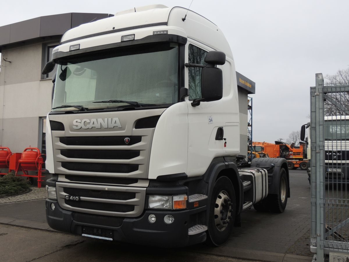 Scania R410 Sattelzugmaschine, 2014, Euro 6, 410 PS, 4×2