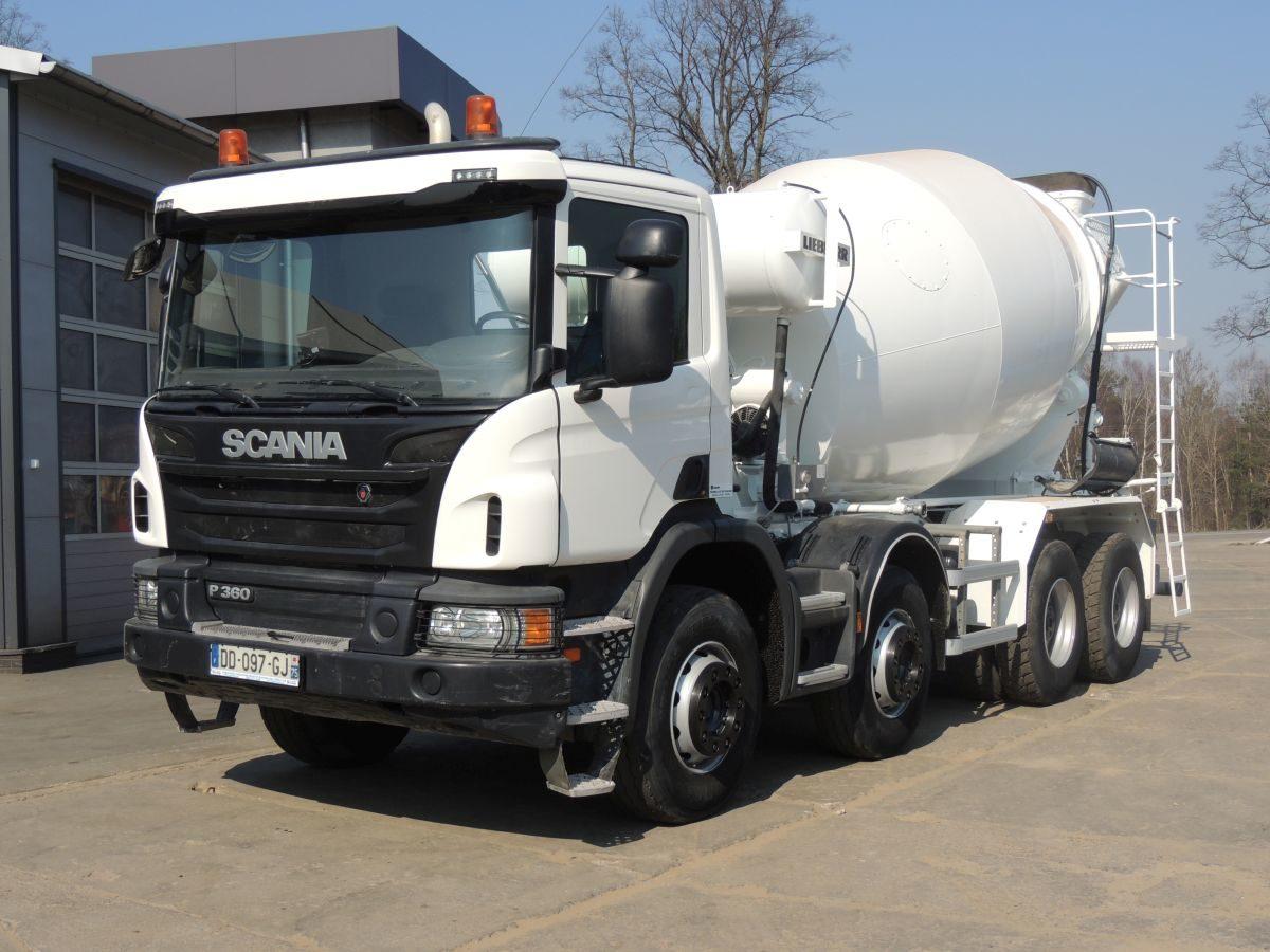 Scania P360 Gruszka, 2014, 360 PS, Euro 5
