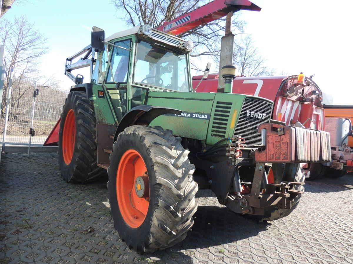 Fendt Farmer 311LSA Turbomatik, 4×4, 110л.с.