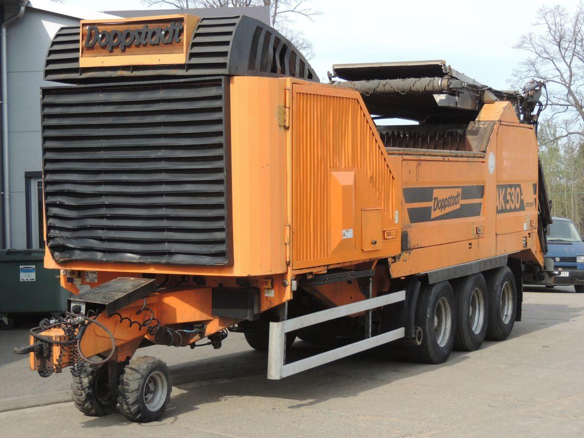 Rębak , Młotkowy, wysokoobrotowy Doppstadt AK530 Compact , 12.2007r , 530KM