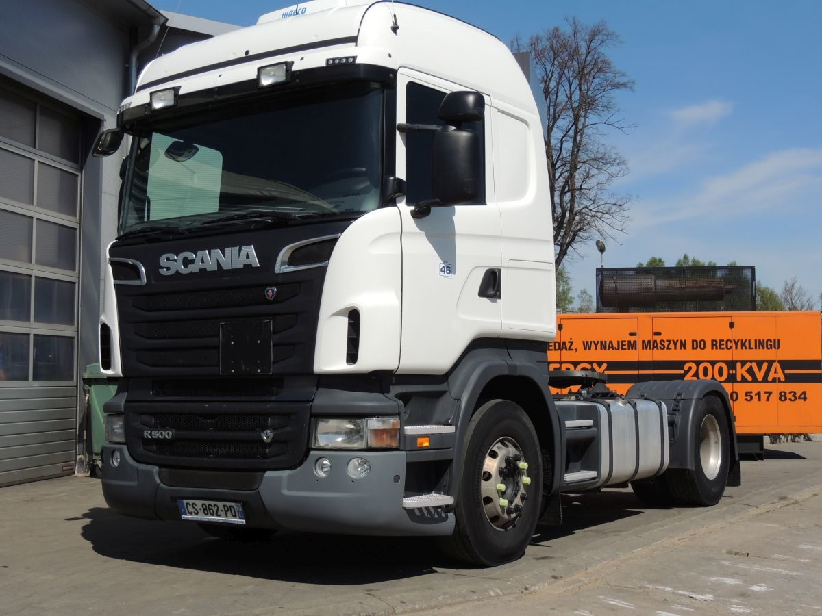 SCANIA R500 Tractor, 2013, 500HP, Euro 5