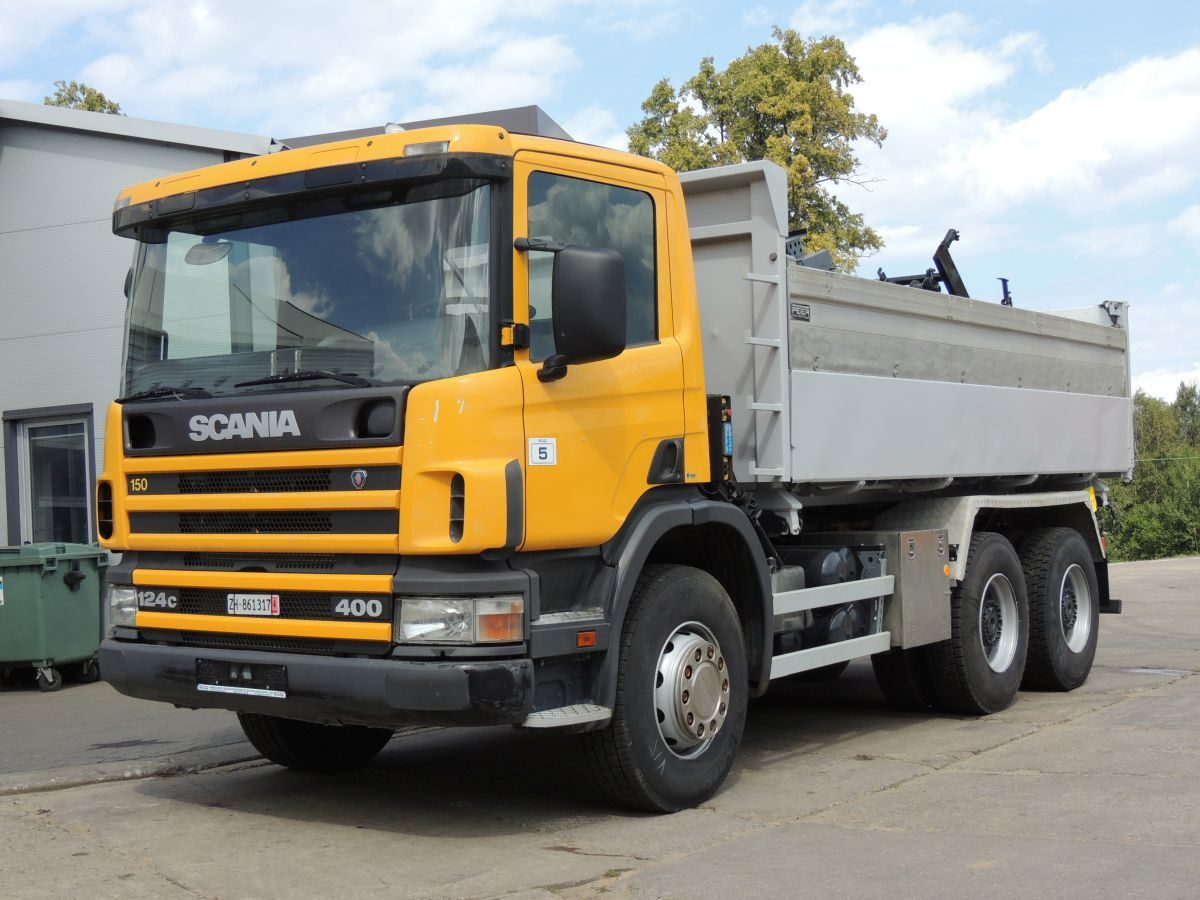 Scania 124c 400 Tipper, PETER WINTERTHUR, 1999year, 6×4