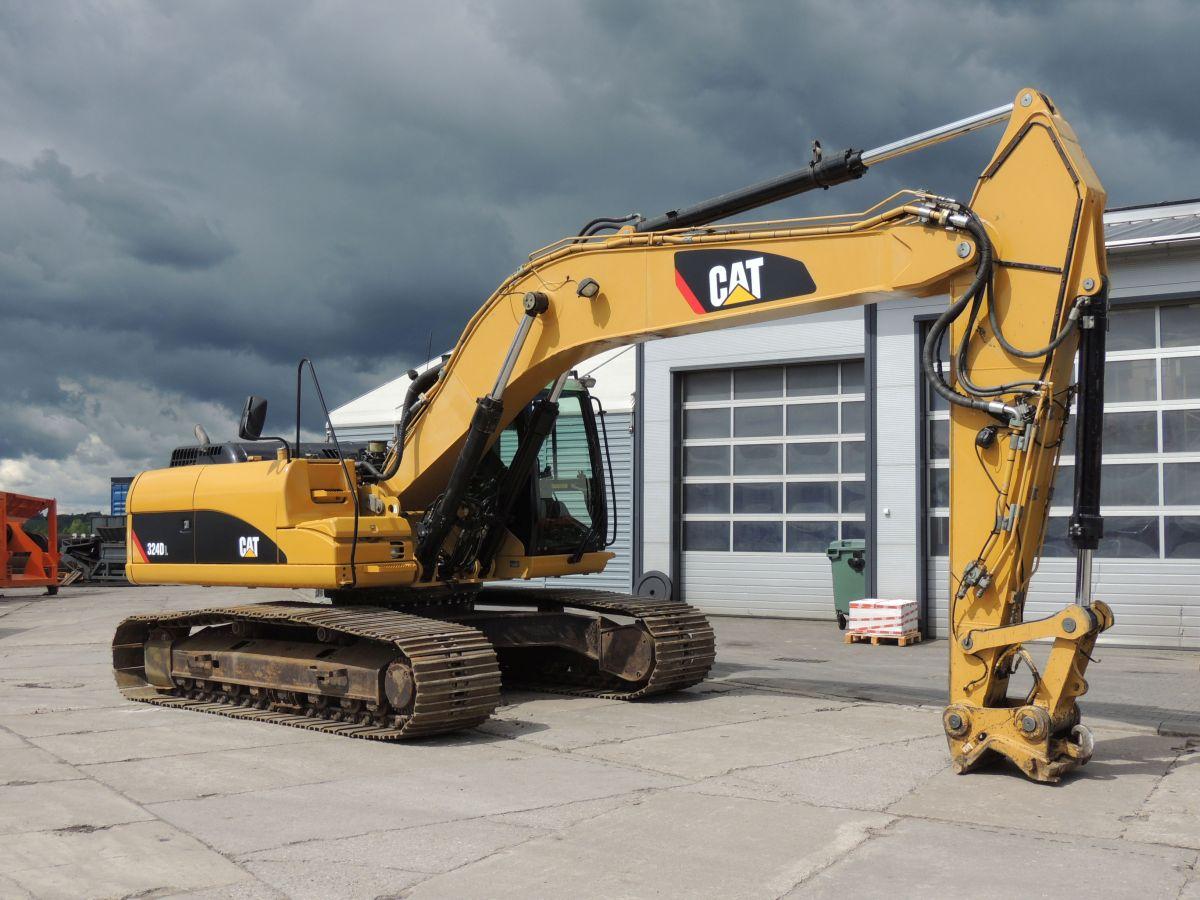 CAT 324D Crawler excavator, 2007year, 190HP