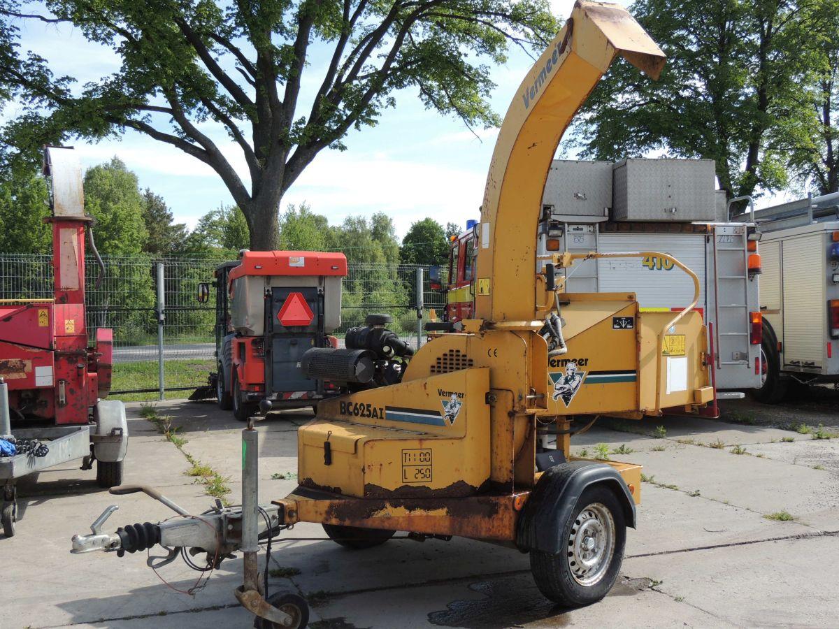 Vermeer BC625AI rębak mobilny, 2004rok