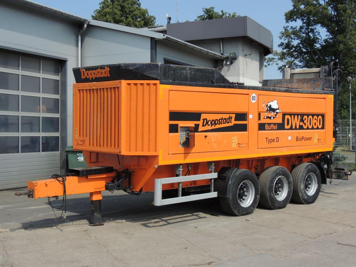 Doppstadt DW3060 BioPower 2011, 490 km, erneuerte Maschine