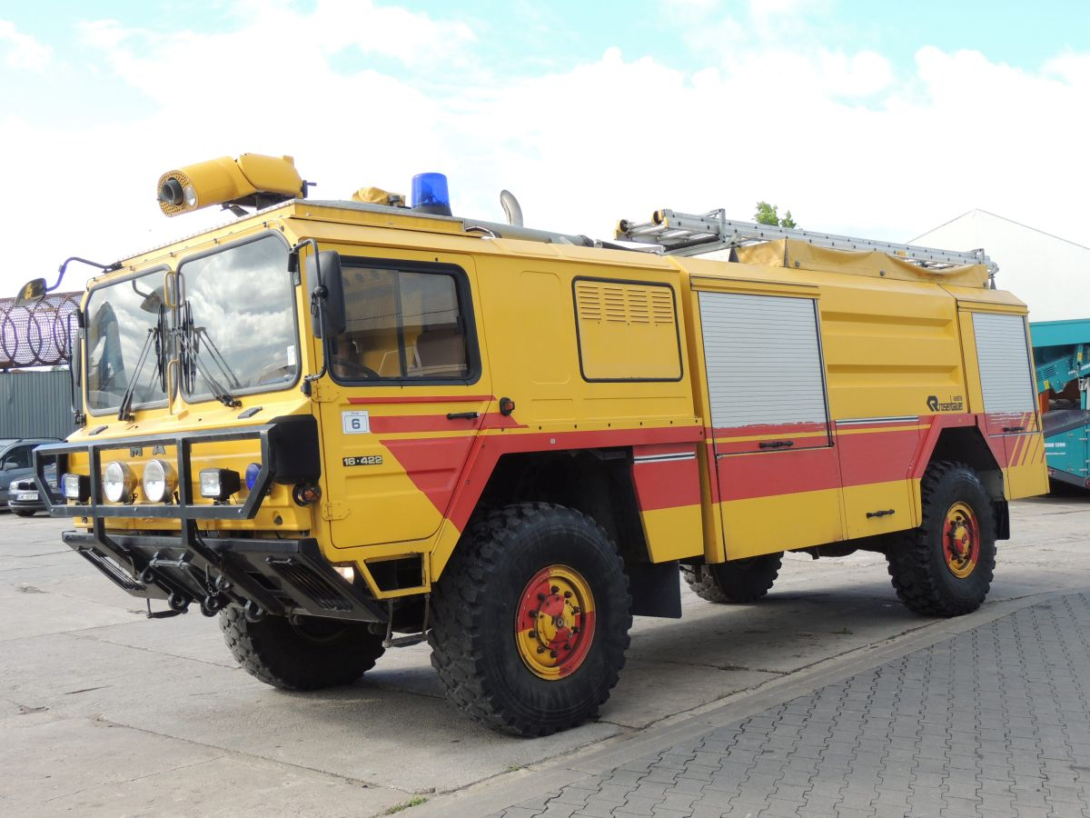 MAN KAT.1 16.422 Buffalo, Fire Engine — Пожарная машина