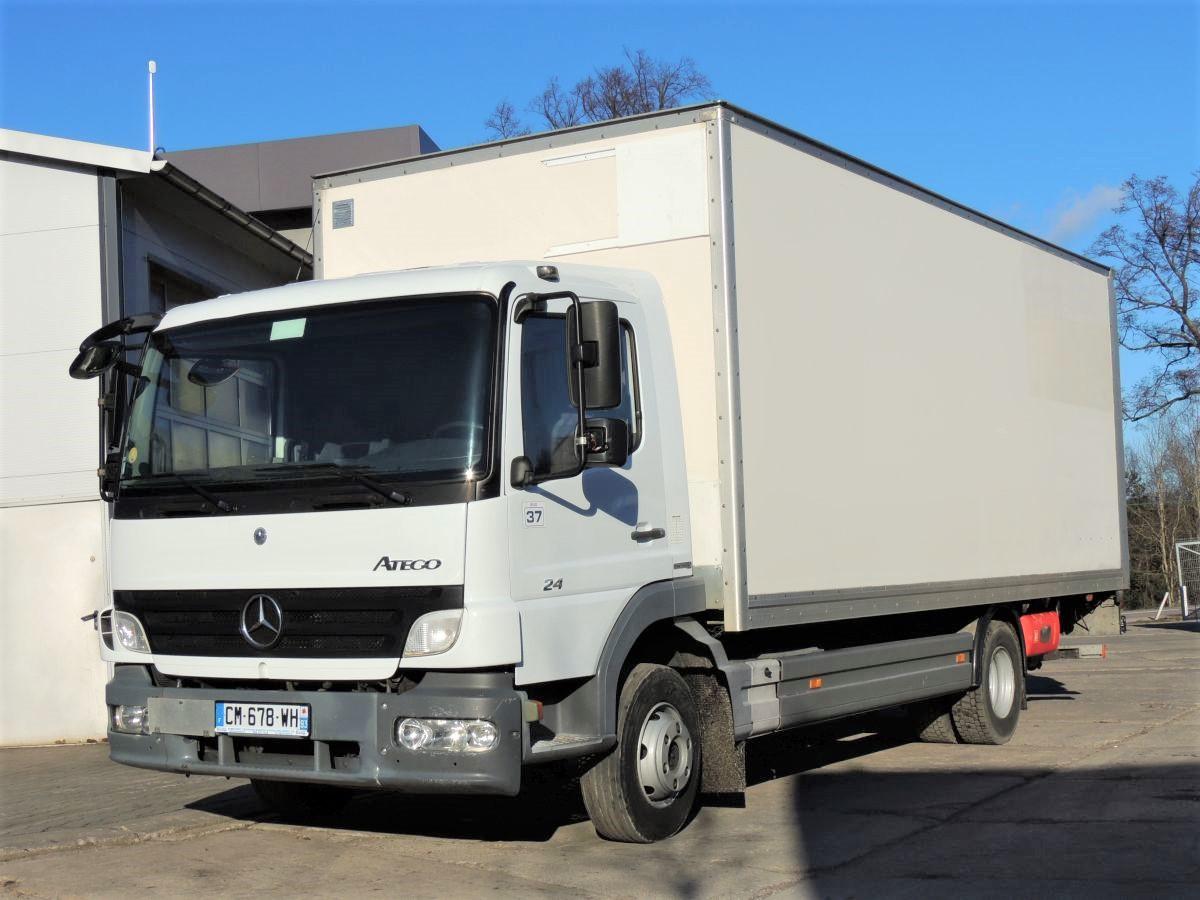 Mercedes Atego 818 container, 2012, EURO 5, AdBlue, DHOLLANDIA