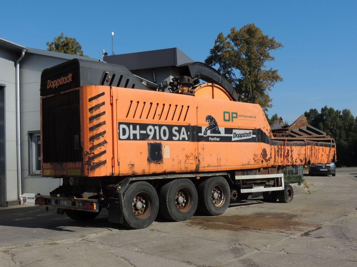 Doppstadt DH 910 Schnellmesserhacker, 2009